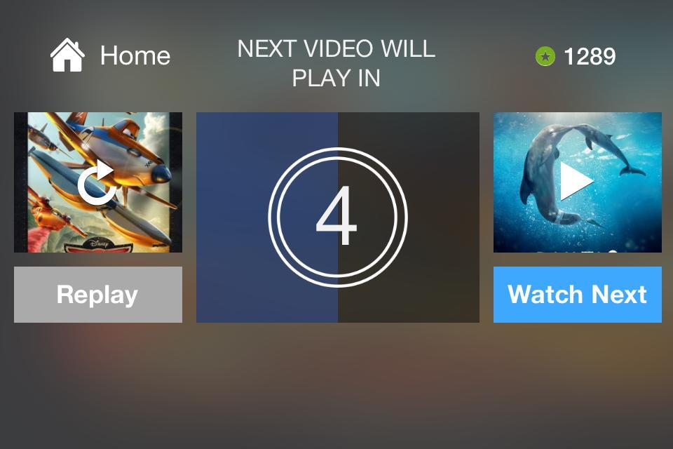 perk tv - waiting for next video