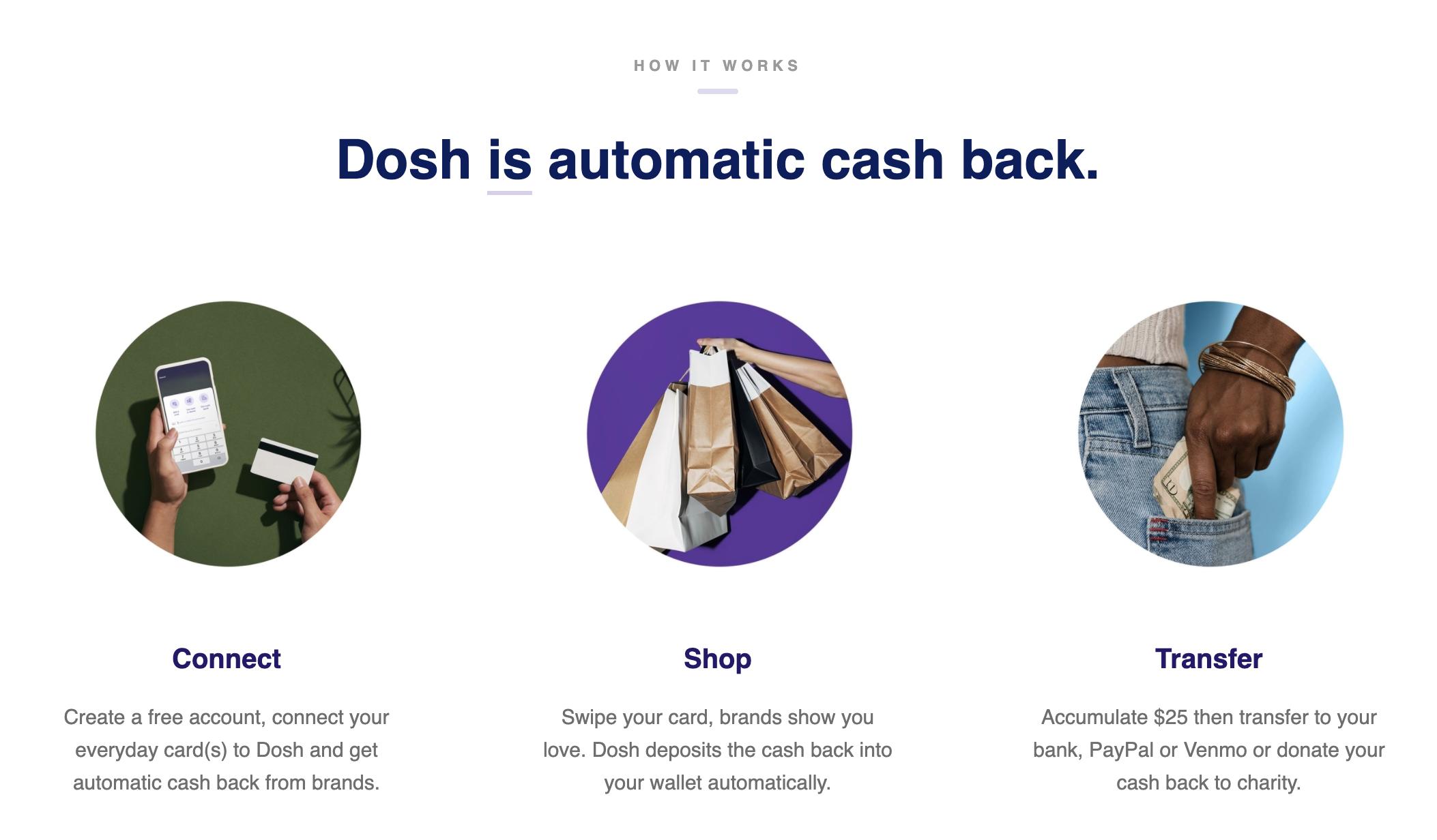 dosh automatic cash back